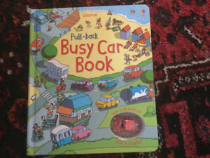 Busy car book - toy and book in one