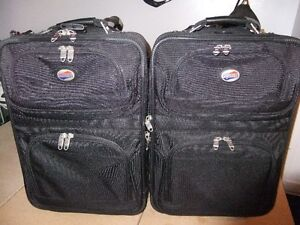 AMERICAN TOURISTER LUGGAGE ROLLER BOARD TWO CASES.OBO.