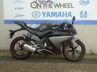 2012 YAMAHA YZF-R125 MATT GREY, *LOW MILES *