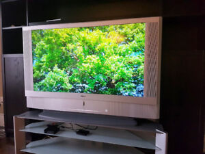 "For Sale: 50"" Sony Grand Wega HDTV with Matching Stand, Remote"