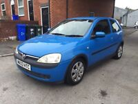 2003 VAUXHALL CORSA 1.2 SXI HPI CLEAR FSH LOW MILES £799