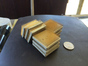Gold Plated computer pin/chips
