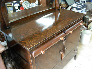Antique Tiger Oak Sideboard Cambridge Kitchener Area image 2