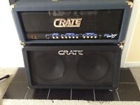 Crate bv60 head et cab crate 2x12