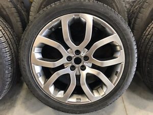 20x8 Range Rover Tires with Rims