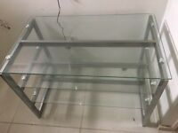 Beautiful Glass Tv unit