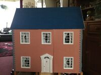 dolls house with lighting