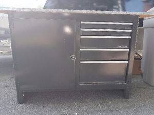 CRAFTMANS TOOL CHEST/TABLE