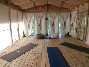 For the Purpose of Offering Outdoor Yoga Classes