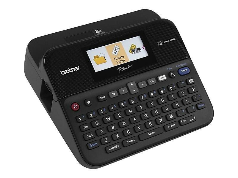 Brother Refurbished P-Touch Desktop Label Maker EPTD600
