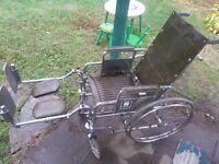 chaise roulante en bonne état