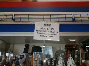 September 25, 2018 live auction at Salvation Army