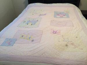Princess quilt double/queen