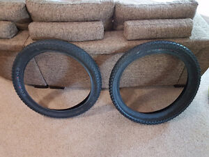 Pair of ChaoYang Big daddy fat bike tires 4 inch