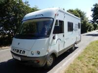 Hymer B524 Left hand drive A class Motorhome for sale
