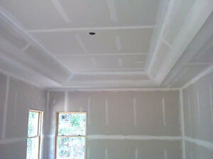 Tape and drywall and repairs complete, free estimates Cambridge Kitchener Area image 1