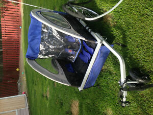 Schwann bike trailer