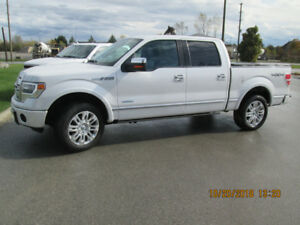 2013 Ford F-150 4WD SuperCrew Platinum