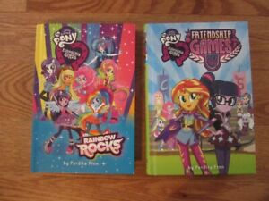"My Little Pony Equestria Girls Chapter"" Books"