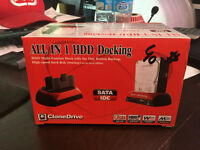 DOCKING STATION ONE TOUCH BACKUP POUR 2.5'' / 3.5'' SATA / IDE H