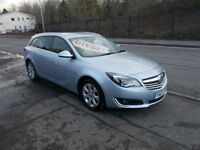 VAUXHALL INSIGNIA SRI NAV CDTI DIESEL ESTATE 1 OWNER £20 A YEAR RFL NEW PRICE