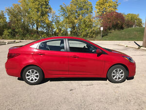 2013 Hyundai Accent Sedan, AC, manual
