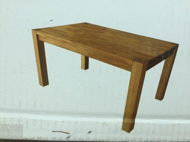 Homebase Oak Dining Table