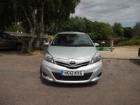 Toyota Yaris VVT-I TR (silver) 2012