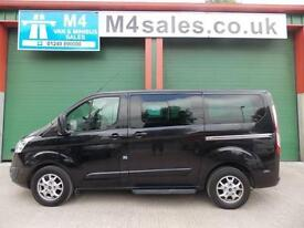 Ford Tourneo Custom 8st, swb minibus,Full A/C etc..