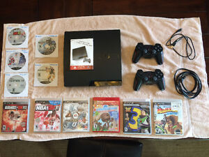 PS3 Gaming Console, Controlers, & 11 Games $200 O.B.O. Windsor Region Ontario image 1