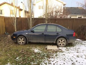 2000 Volkswagen Jetta **Needs power steering rack Edmonton Edmonton Area image 1