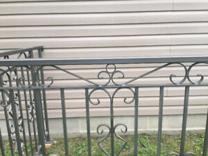 Custom made Railing made by owner