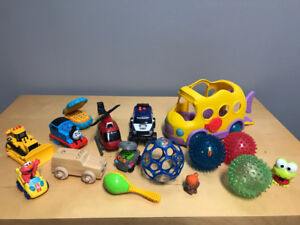 Toy lot - various baby and toddler toys
