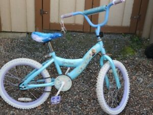 "18"" Frozen Girls Bike"