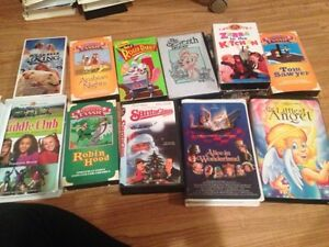 Childrens vhs's