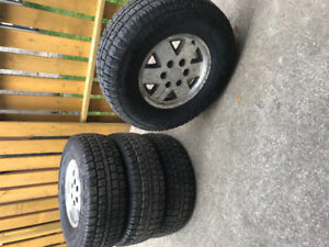 4 Cooper Discovery M&S winter tires