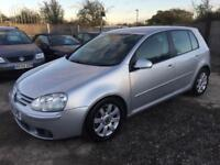 VOLKSWAGEN GOLF 2006 2.0 TDI DSG MY GT DIESEL - AUTOMATIC - 1 PREVIOUS OWNER