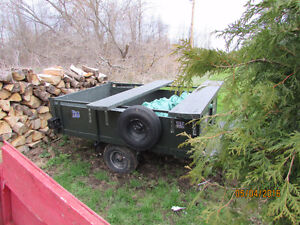 MINT 5 TON 4 YEAR OLD TRAILER