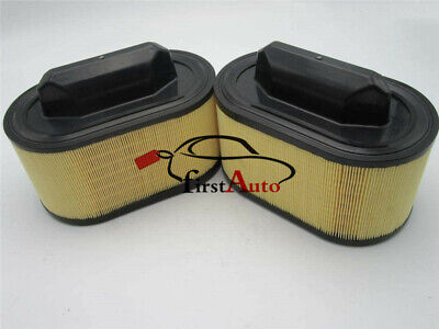 New 2PCS Air Filter For Ghibli Levante Quattroporte Maserati 670001545 OEM