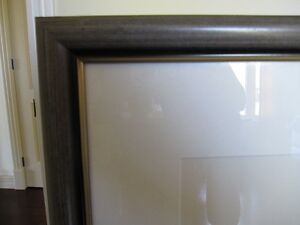 Wooden Picture Frame with Glass and White Mat St. John's Newfoundland image 2