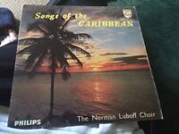 Norman luboff choir songs of the Caribbean 7inch single
