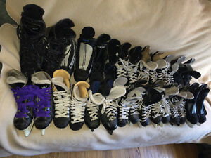 CCM, Bauer, Nike Micron youth/Mens Hockey skate Sz 2,3,4,5,6,7,8