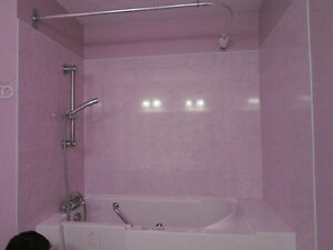Walk- in  Bathtub/Shower
