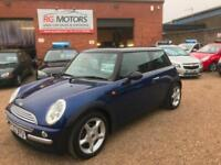 2003 Mini Mini 1.6 Cooper (Chilli) Blue 3dr Hatch, **ANY PX WELCOME**
