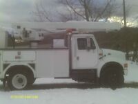 For Sale 1999 International 4700 Inspected Bucket Truck