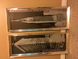New York wall pieces (2)
