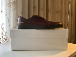 Common Projects Rec Shoe Burgundy