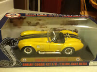 **VERY RARE** SHELBY COBRA 427 S/C 1:18 DIE CAST CAR
