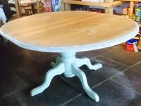 Solid Pine Table Shabby Chic