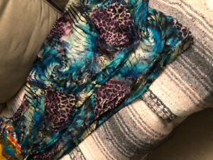 Colourful long scarf asking $10 see pictures